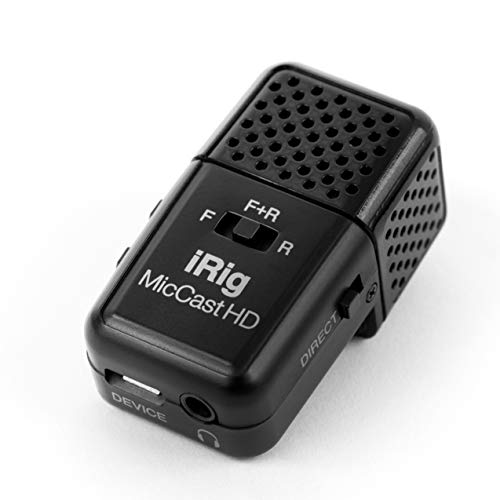 IK Multimedia iRig Mic Cast HD Pocket-Sized Microphone for iPhone, iPad, and Android Devices... (Multimedia Microphone)