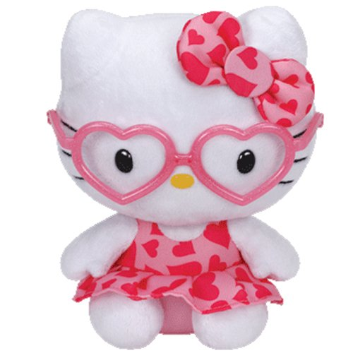 (Ty Hello Kitty - Pink Glasses)