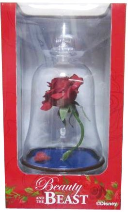 Beauty and the beast Rose Rose lamp by TDR