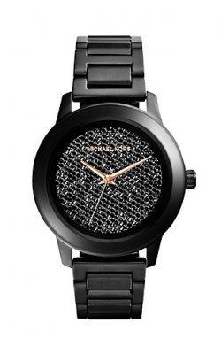 Michael Kors MK5999 Kinley Women's Black Ion Diamond Dial - Michael Kors Diamond