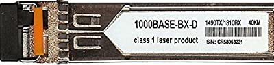 Transition Networks Compatible TN-GLC-BX-D-40 - 1000BASE-BX-D Bi-Directional SFP Transceiver