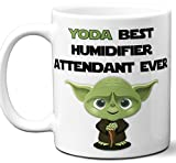 Funny Gift For Humidifier Attendant. Yoda Best Employee Ever....