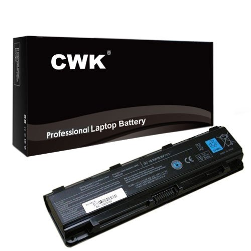 CWK® New Replacement Laptop Notebook Battery for Toshiba Satellite C855D-S5196 C855D-S5201 C855D-S5302 Toshiba PA5026U-1BRS PA5027U-1BRS PABAS260 PABAS261 Toshiba Satellite C55-A5243 C55-A5243NR C55D-A5208 C855D-S5344 C855D-S5351 C855-S5306 C855-S5194 C55 C55Dt C55-A5300 C55Dt-A5241 C55t-A5222 C55-A5245 C50-A C50D-A PA5109U-1BRS. Toshiba Satellite L855-Sp5260Cm L855-Sp5260Km PABAS260 PABAS261 Toshiba Satellite L800 L800D L805 L830 Toshiba Satellite C55t-A5222 C55-A5285 C55D-A5240