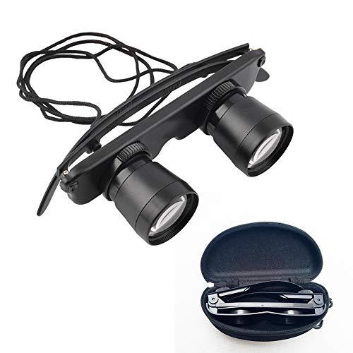 (GOSONO 3x28 Magnifier Glasses Style Outdoor Fishing Optics Binoculars)