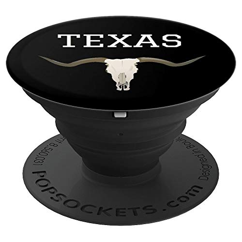Longhorn Texas - PopSockets Grip and Stand for Phones and Tablets ()