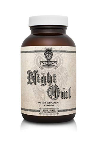 - Ambrosia Night Owl® Blue Light Protection - 60 Capsules