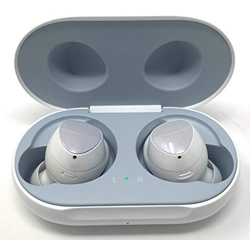 Samsung Galaxy Buds 2019, Bluetooth True Wireless Earbuds (Wireless Charging Case Included), (International Version) (White) (Best Earbuds Under 150)