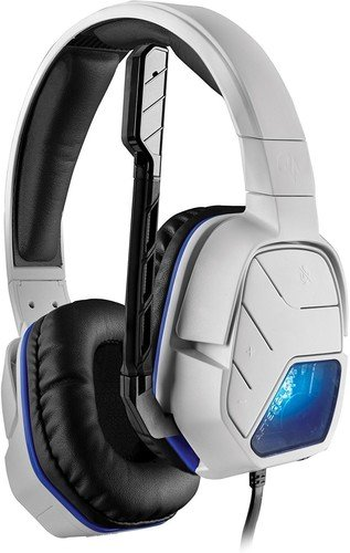 PDP Afterglow LVL 5+ Wired Stereo Gaming Headset for PlayStation 4 White 051-033-NA-WH-X
