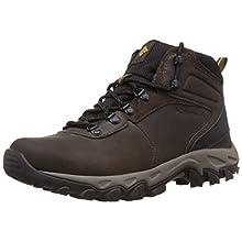 Columbia Men's Newton Ridge Plus II Hiking Boot, Cordovan/Squash, 15 M US