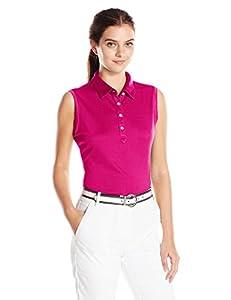 Cutter & Buck Women's Moisture Wicking, UPF 50+, Sleeveless Clare Polo Shirt