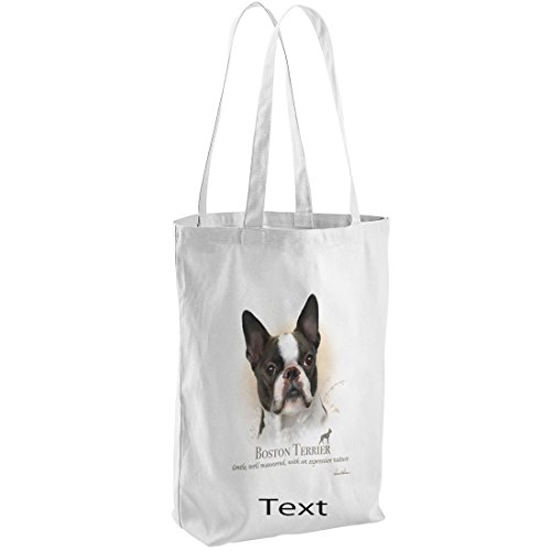 Boston Personalised Howard Bag Unisex Tote Terrier Robinson wxqFA