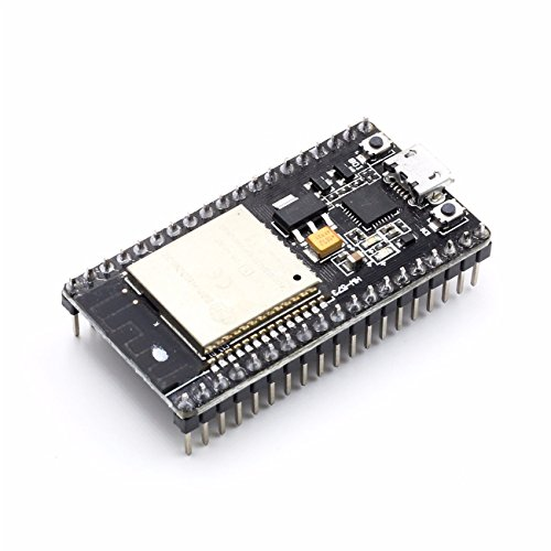 - YIKESHU ESP-32S Development Board 2.4GHz Dual-Mode WiFi + Bluetooth Dual Cores Microcontroller Processor Integrated with Antenna RF AMP