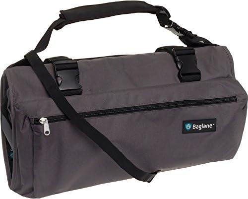 [BagLane] 衣類スーツバッグ 旅行用キャリーバッグ, グレー, One Size