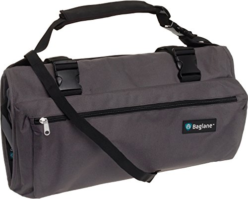 Baglane Garment Suit Bag by Travel Carry On Garment Bag (Grey) by Baglane