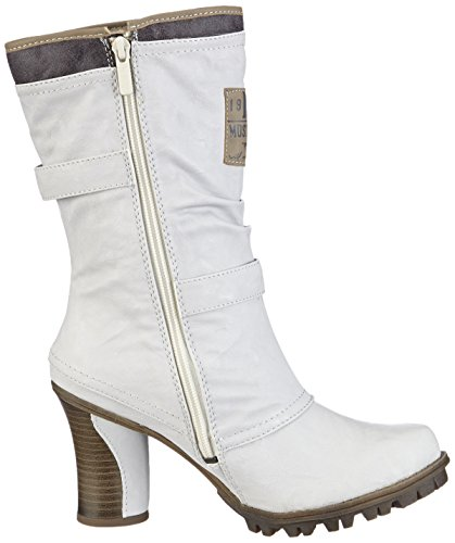 Off 1141606 Mustang Boots Blanc White 100 femme 61wXHZq