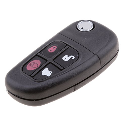 MagiDeal Car 4-Button Remote Key Fob 433Mhz 4D60 Chip For Jaguar XJ XJR X S Type by MagiDeal