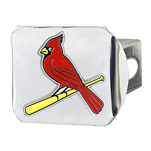 FANMATS MLB - St. Louis Cardinals Color Hitch - - Cover Trailer Hitch Mlb