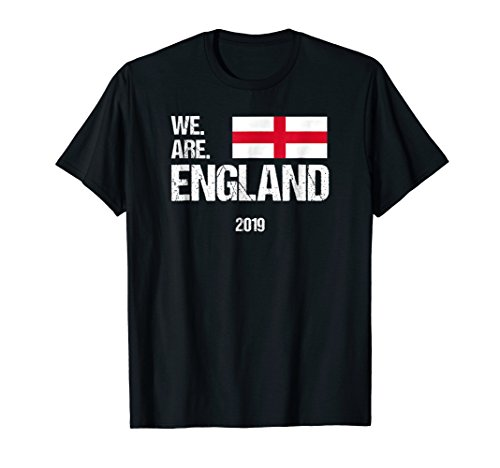 Rugby World Cup T-shirts - We Are England, World Rugby Team T-shirt 2019