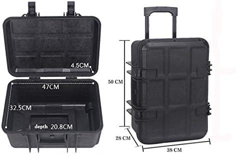 Large Hard Camera Equipment Case w//Wheels Protective Foam Automatic Pressure Purge Vacuum Protection for Nikon Canon C300 C500 4K XH-A1s