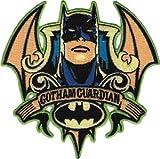 Batman Dark Knight DC Comics Iron On Patch - Gotham Guardian Face Crest