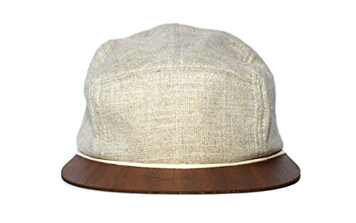 Linen Snapback Hat green with wooden brim - Made in Germany - Unisex - Lightweight & comfortable - One size fits all | Lou-i 5 Panel - Gucci Germany