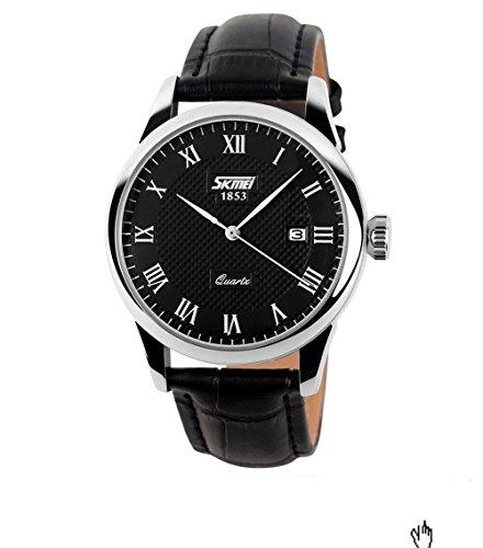 jmarket-30-meters-waterproof-roman-numeral-wrist-business-casual-watch-quartz-watch-with-date-functi