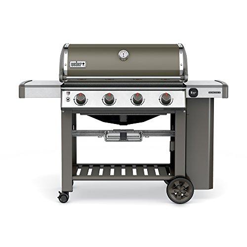 (Weber 62050001 Genesis II E-410 Liquid Propane Grill, Smoke, Four-Burner,)