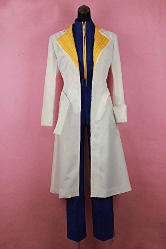 Relaxcos Rurouni Kenshin Shinomori Aoshi Uniform Cosplay Costume ()