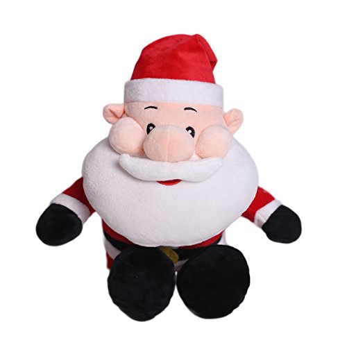 HollyHOME Santa Plush Toy Soft Stuffed Animal Festival Birthday Gift for Kids 21 Inches from HollyHOME