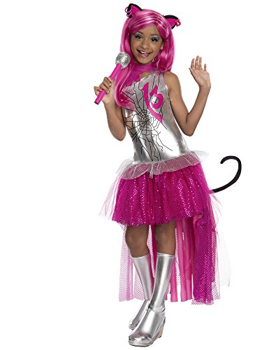 Rubies Monster High Frights Camera Action Catty Noir Costume, Child Small -