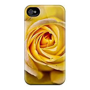 Rugged Skin Samsung Galasy S3 I9300 - Eco-friendly Packaging(yellow Rose)