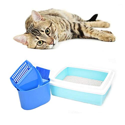 V-HOUE Dog Housebreaking Cat Litter Shovel Pet Cleaning Tool Scoop Sift Cat Sand Cleaning Products Dog Food Scoops for Cat Toilet Training Kit Z by V-HOUE