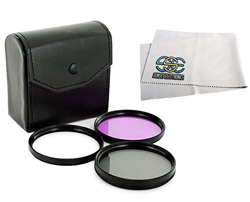 67mm Filter Kit for Nikon D90 18-105mm VR DX Lens