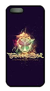 Tomorrowland 2014 Electronic Music Festival Logo Protective Hard Plastic Back Fits Cover Case for iphone 5 iphone 5s -1122047