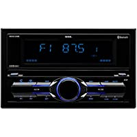 SOUND STORM DDC28B Double-DIN CD/MP3 Player, Receiver, Bluetooth, Detachable Front Panel, Wireless Remote