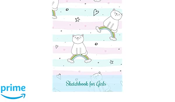 3cfb948d4a Sketchbook for Girls (Extra Large   8 x 11   Doodle Book-Practice Drawing  People