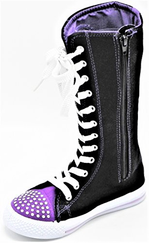 Kids Sneakers Consider Going Canvas Punk 10 1 Tall Dancing Skate Dev Girls New Size Classic Boot Purple 1153 up Shoes 4dqPFBSS