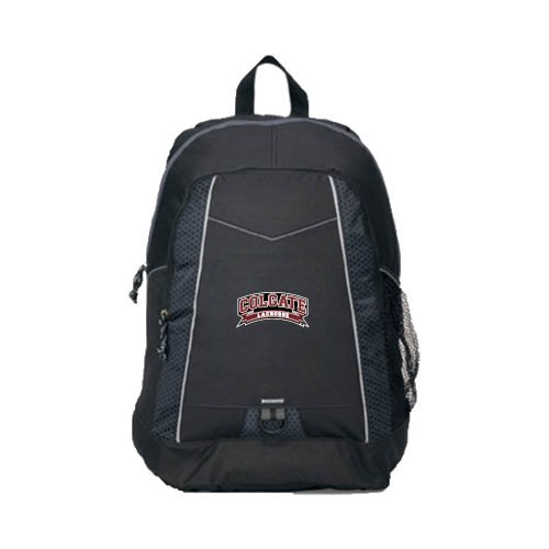 Colgate Impulse Black Backpack 'Lacrosse'
