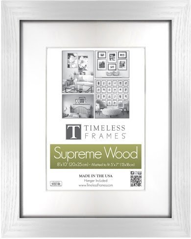 Amazon.com: Regal White 12x12 Solid Wood Photo Memory Frame: Home ...