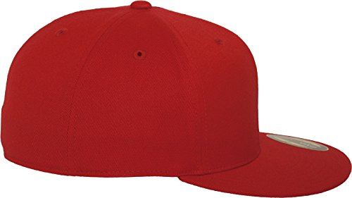 náutica Gorra de Red stlye Mütze Rojo 6210 Flexfit Premium 210 Fitted nYv0q8