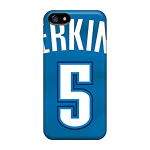 Iphone 5/5s NQs4683UefY Unique Design HD Oklahoma City Thunder Pattern Great Hard Phone Cover -DannyLCHEUNG