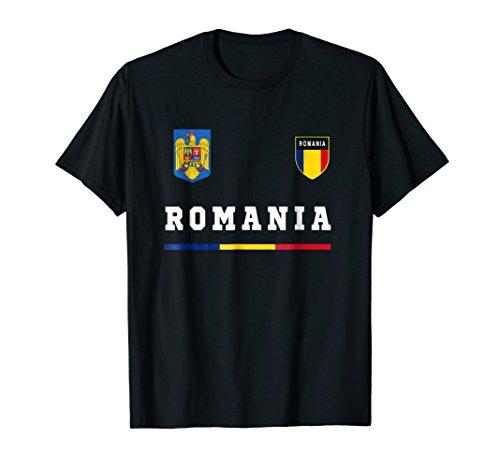- Romania T-shirt Sport/Soccer Jersey Tee Flag Football