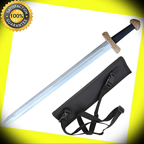 (Foam Viking Norse Legacy Costume Cosplay Practice LARP Play Sword with Sheath perfect for cosplay outdoor)