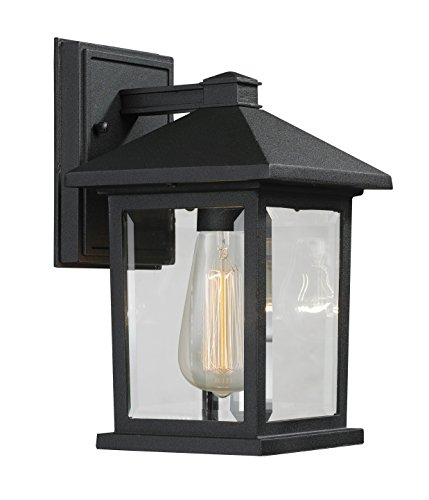 Z-Lite 531S-BK 1 Outdoor Wall Light from Z-Lite
