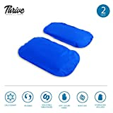 Gel-Ice-Pack-Cold-Compress–2-Pack-LARGE–Reusable-comfortable-soft-touch-vinyl-provides-instant-pain-relief-rehabilitation-and-therapy-for-injuries