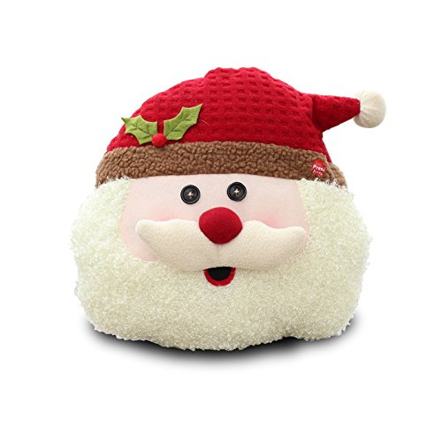 Sweet Tooth Comic Costume (Final Clearance! Christmas Animated Musial Flappy Santa Throw Pillow Plush, Singing and Dancing Holly Jolly Santa Decorative Pillow for Xmas Christmas Home Household Ornament, 11.4 inch)