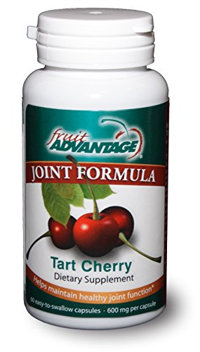 Fruit Advantage Joint Formula Tart Cherry, 600 mg, 60 (Advantage Natural Cherry)