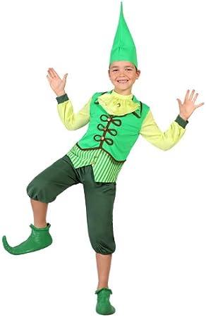 Atosa-23684 Disfraz Duende, color verde, 5 a 6 años (23684 ...