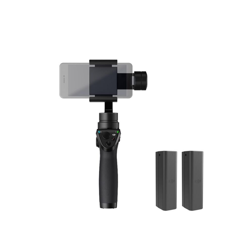 DJI OSMO MOBILE Refurbished Handheld Stabilized Camera Gimbal (Certified Refurbished)