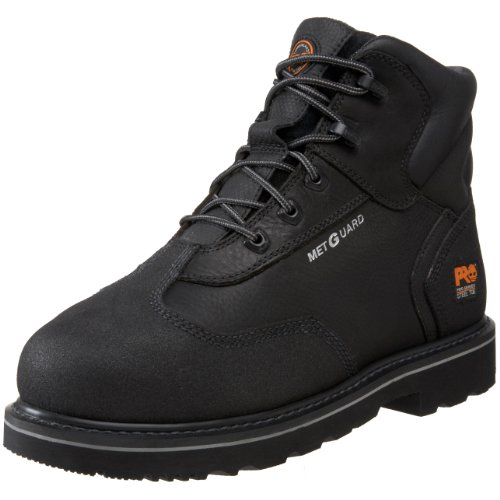 Timberland PRO Men's 85516 Internal Met Guard Work Boot,Black,10.5 M US